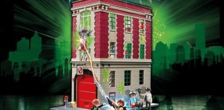 Playmobil Ghostbusters Firehouse HQ