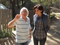 Meir Zarchi & Jamie Bernadette on set of ISOYG DEJA VU (1)