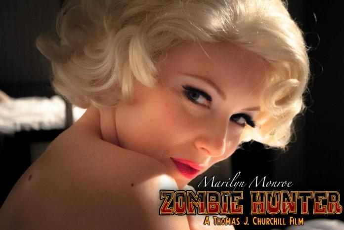 marilyn monroe zombie hunter