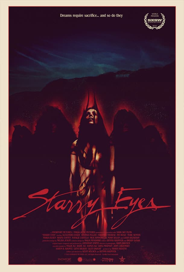 starry eyes poster 2