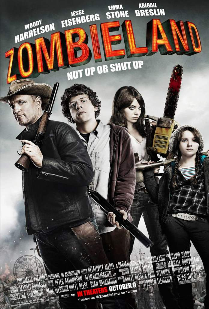 zombieland 2009 poster 2