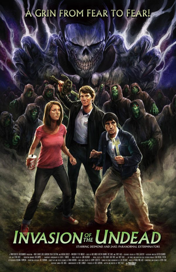 Invasion of the Undead Poster