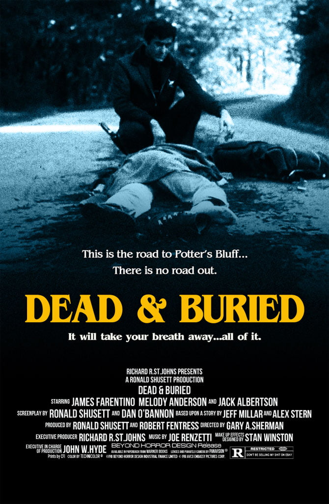 dead buried dvd
