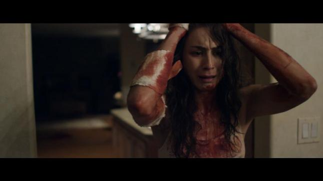 Troian Bellisario as Lucie in the action horror film MARTYRS an Anchor Bay Entertainment release. Photo courtesy of Anchor Bay Entertainment.