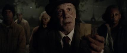 """Dayton Callie as Jebediah Crone in the horror film """"ABATTOIR"""" a Momentum Pictures release. Photo courtesy of Momentum Pictures."""
