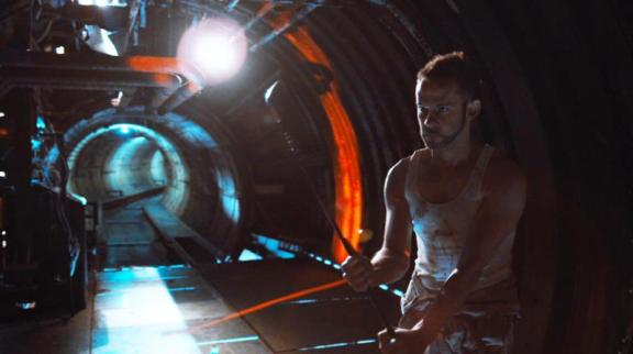 """Dominic Monaghan as Robinson in the sci-fi thriller film """"ATOMICA"""" a Syfy Films release. Photo courtesy of Syfy Films."""
