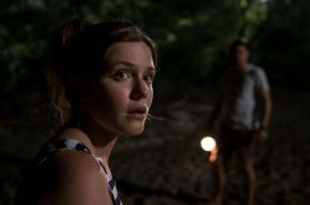 """Harriet Dyer as Sam in the horror/thriller film """"KILLING GROUND"""" an IFC Midnight release. Photo courtesy of IFC Midnight."""