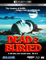 Dead & Buried (1981) (3-Disc Limited Edition – Cover A 'Poster') (4K Ultra HD + Blu-ray + CD) Available July 20