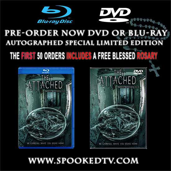 The ATTACHED BLURAY