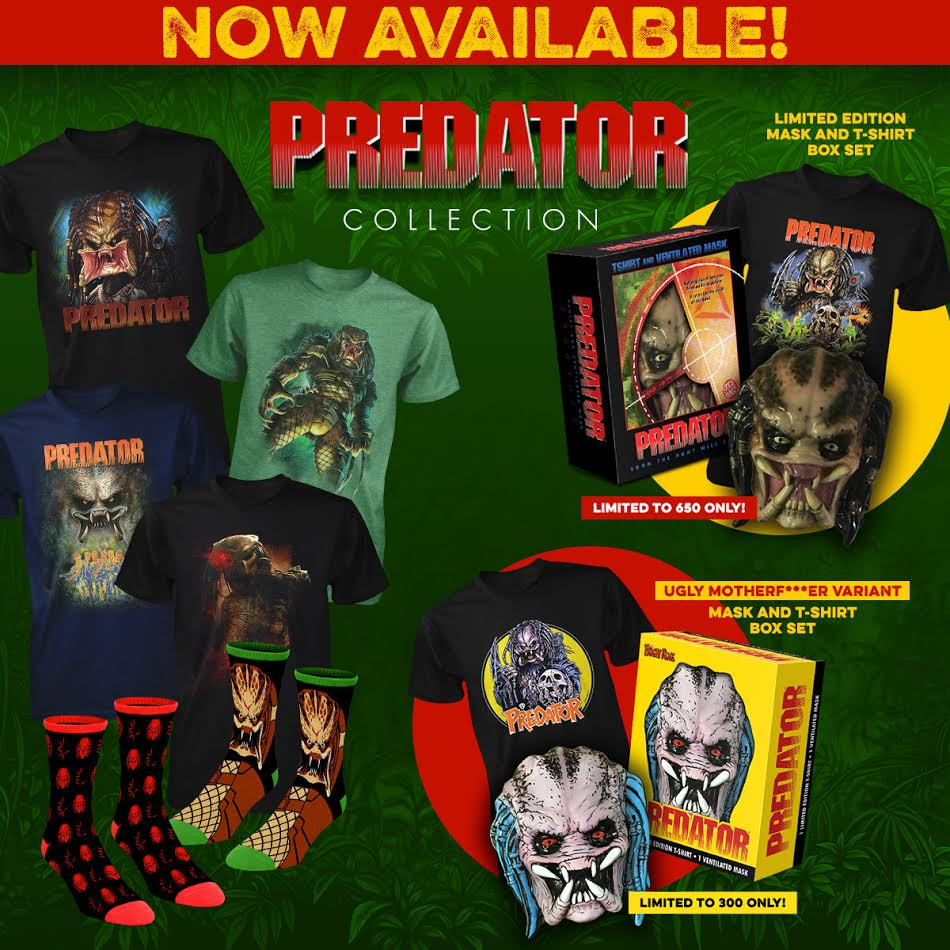 PREDATOR Collection by Fright-Rags!