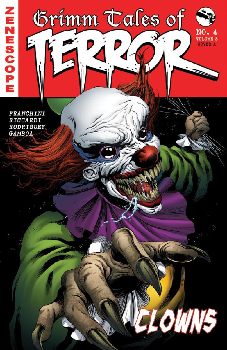 Comic Crypt: Grimm Tales of Terror Volume 3 #4 Preview