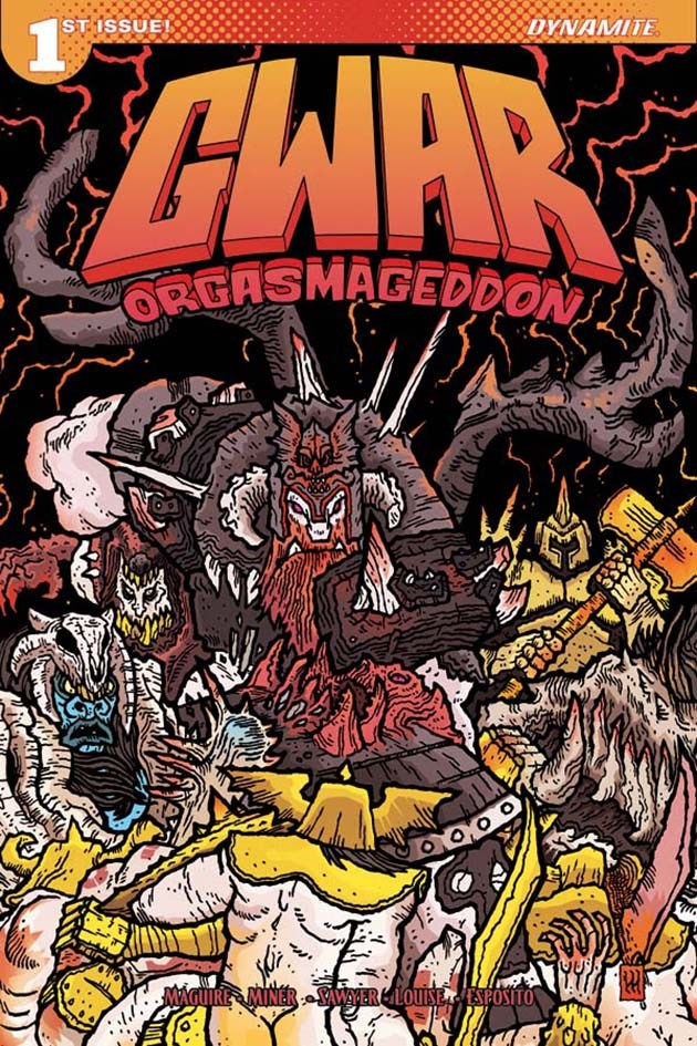 "Scumdogs of the Universe GWAR To Unleash ""Orgasmageddon"" Comic!"