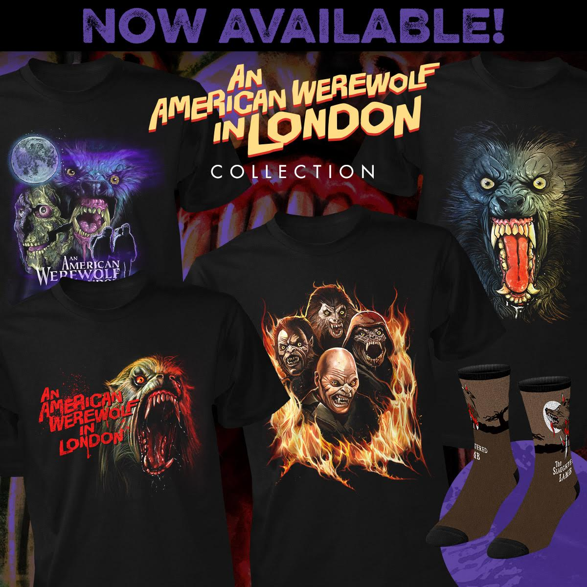 8a2966f0497 Fright-Rags Introduce AN AMERICAN WEREWOLF IN LONDON Apparel! Posted on  April 8