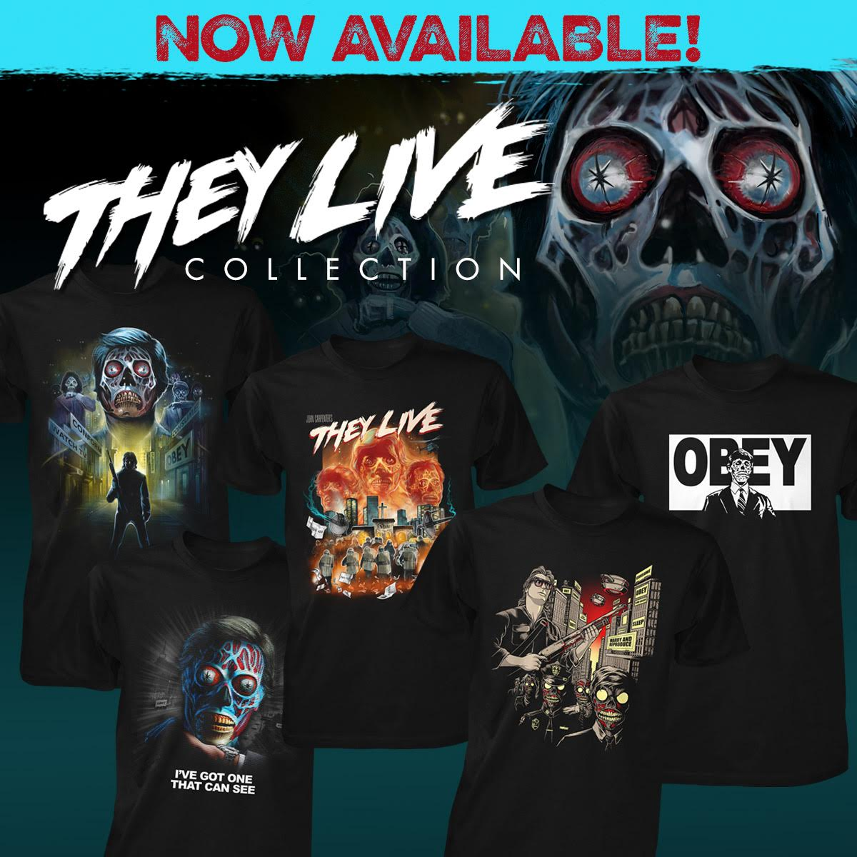 Fright-Rags Debuts ALIEN: COVENANT & THEY LIVE Collections!