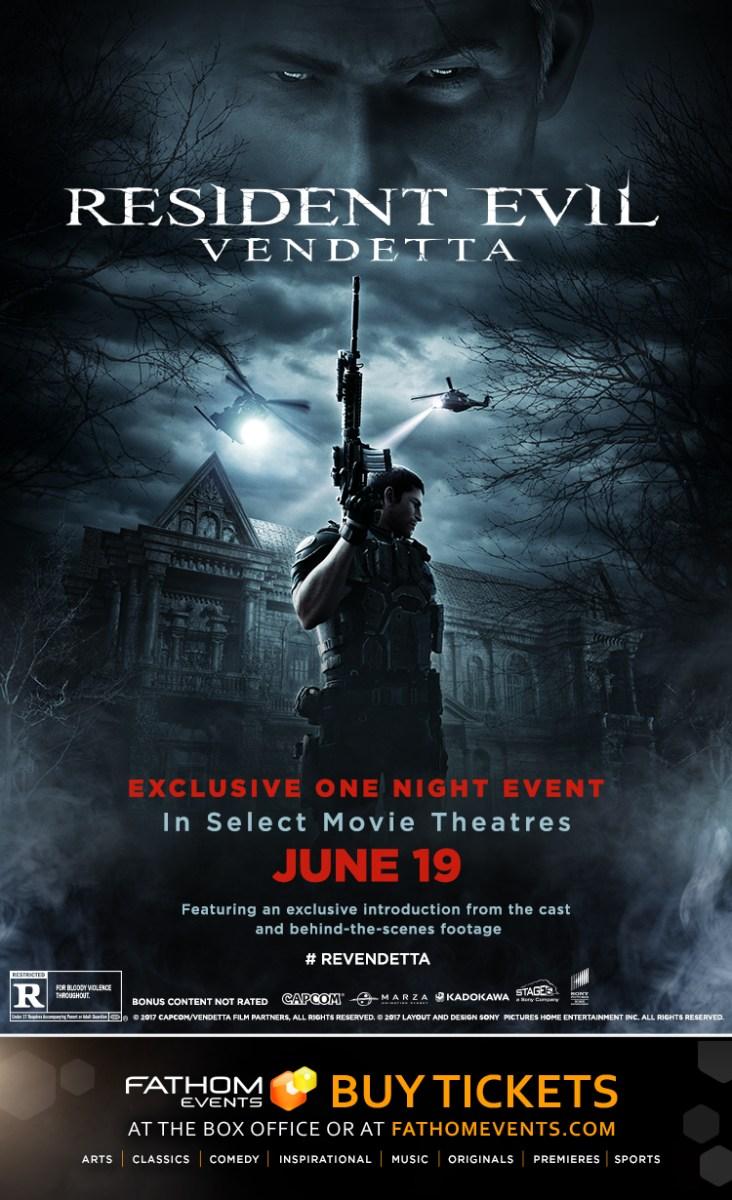 CG Animated Film RESIDENT EVIL: VENDETTA Debuts Trailer & More!