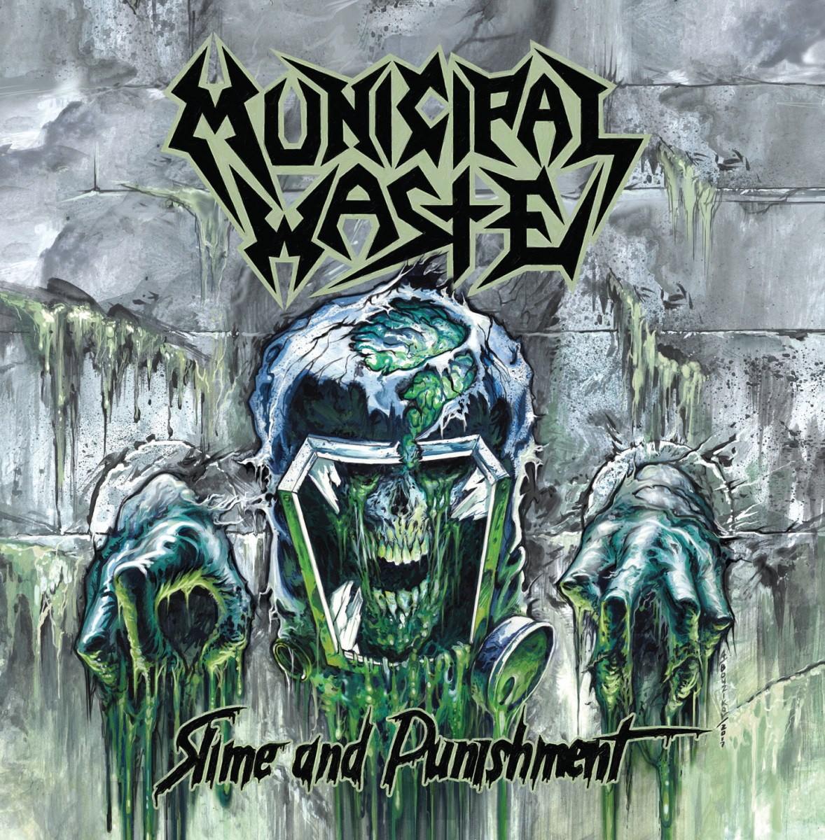 MUNICIPAL WASTE - 'Slime And Punishment' New Album Out Now!