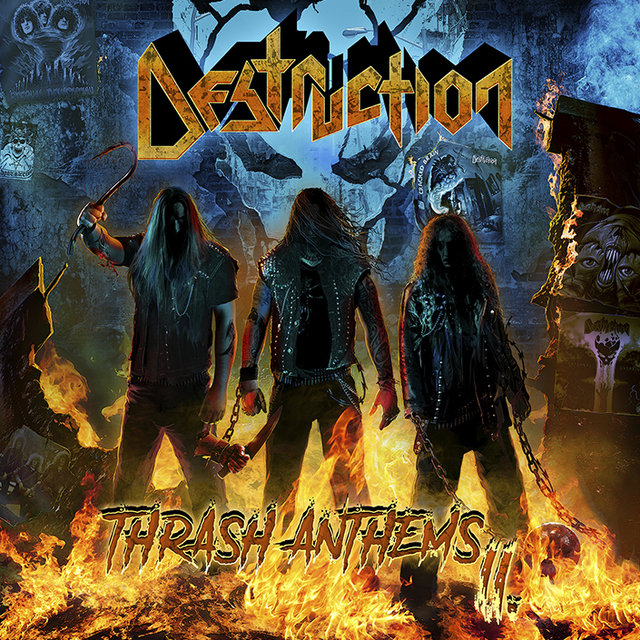Thrash Masters DESTRUCTION to release 'Thrash Anthems II' on November 10th!