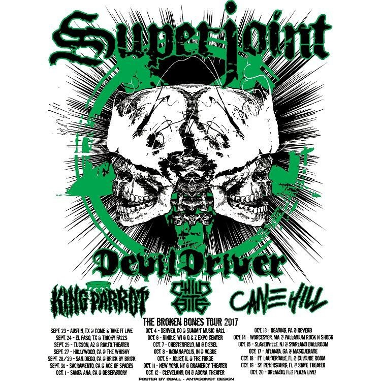 SUPERJOINT Kicks Off US Tour Tonight!
