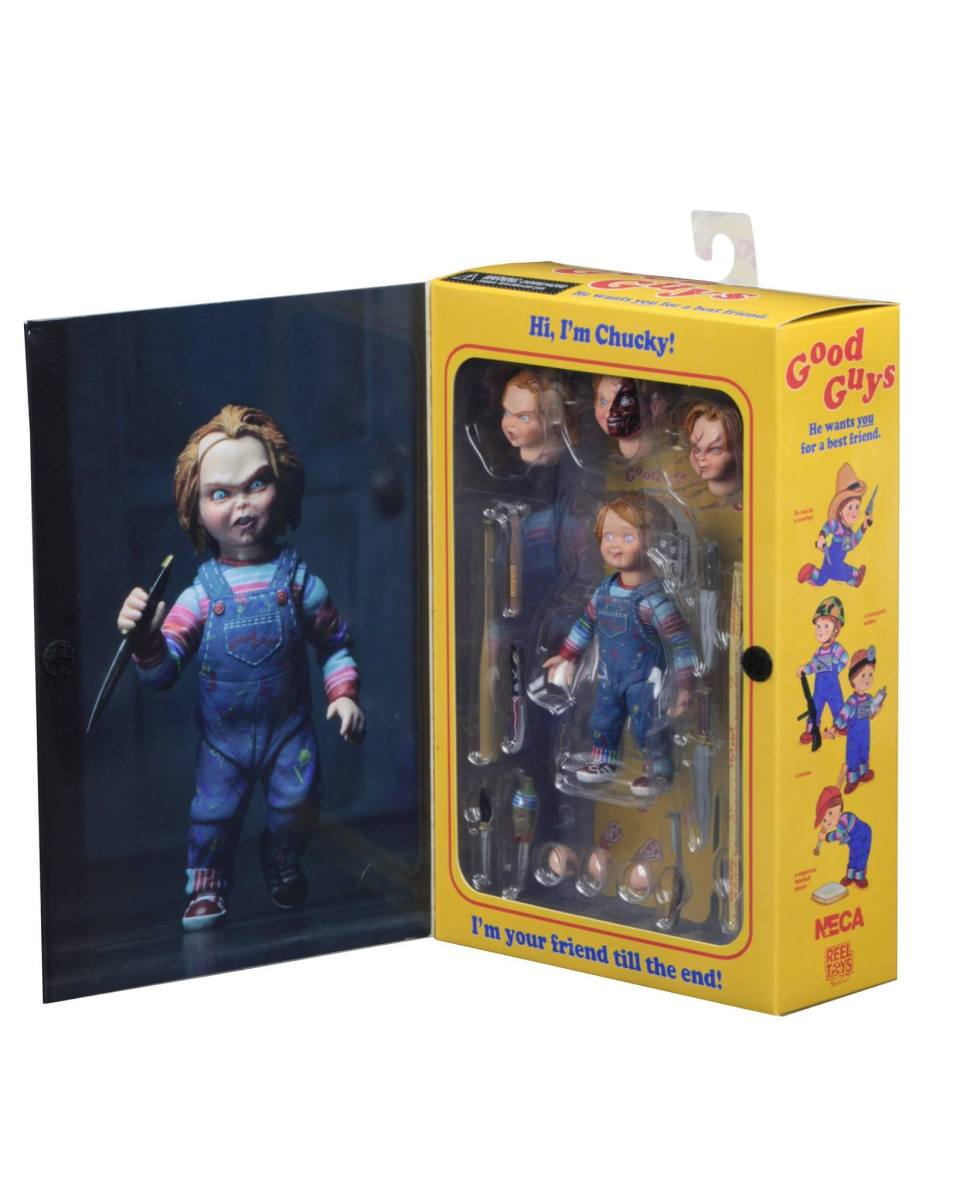 NECA'S Ultimate Chucky Figure Coming Soon!