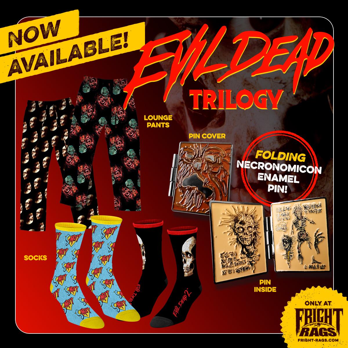 Fright-Rags Debuts Exclusive EVIL DEAD Merchandise!