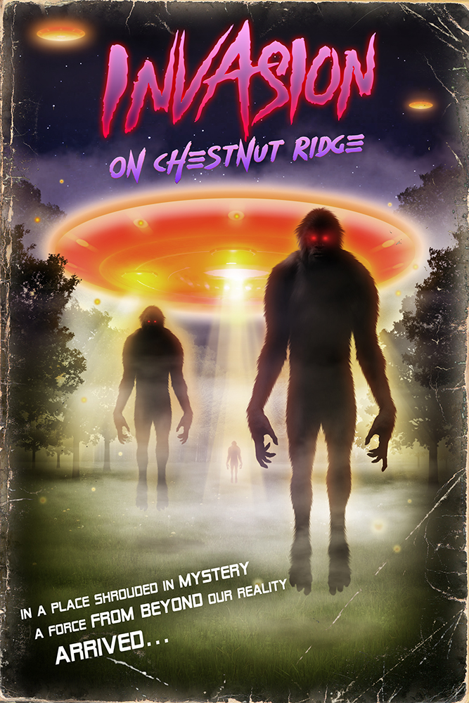 Terror Films To Release INVASION ON CHESTNUT RIDGE!