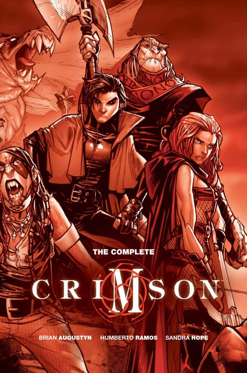 Comic Crypt: Complete Crimson HC Preview!