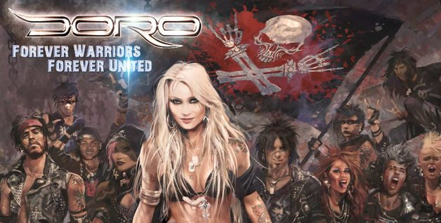"DORO - Releases New Live Single ""All For Metal"" From 'Forever Warriors, Forever United' Album!"