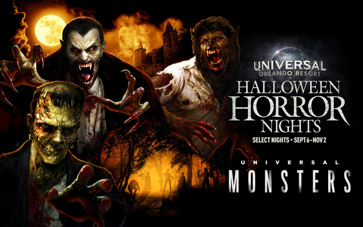 Universal Monsters Return to Halloween Horror Nights 2019 at Universal Studios Hollywood and Orlando!