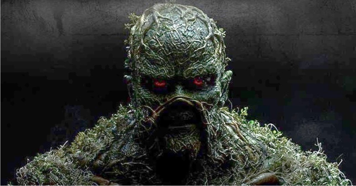 Creepy New Teaser for SWAMP THING TV Series from DC Universe!