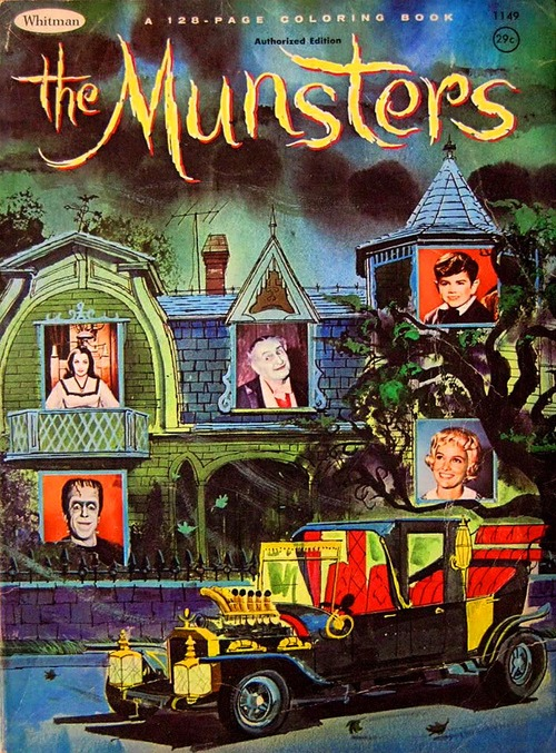 The Munsters TV Series Movies Spin Offs And Merchandise