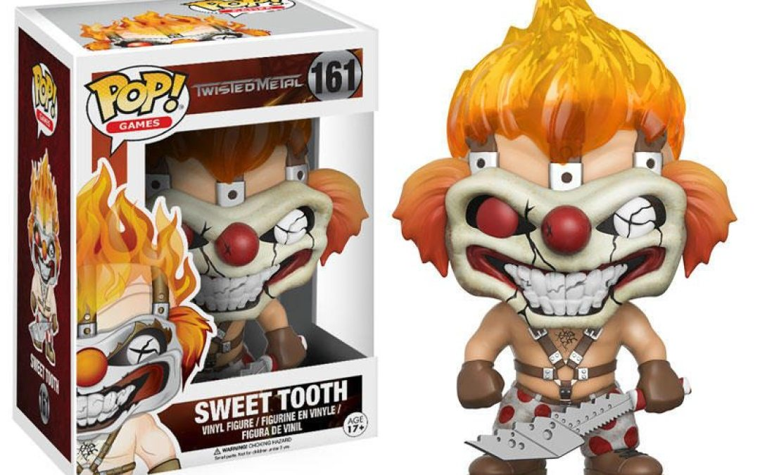 "Funko Thinks You'll Have A ""Sweet Tooth"" For This 'Twisted Metal' Pop! Vinyl!"