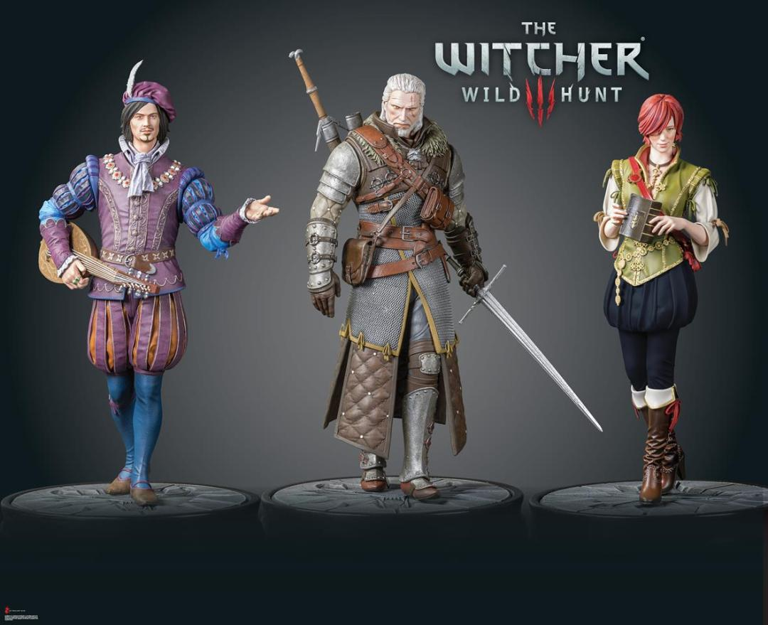 Dark Horse Deluxe Expands 'The Witcher 3: Wild Hunt' Figure Collection at Toy Fair 2017