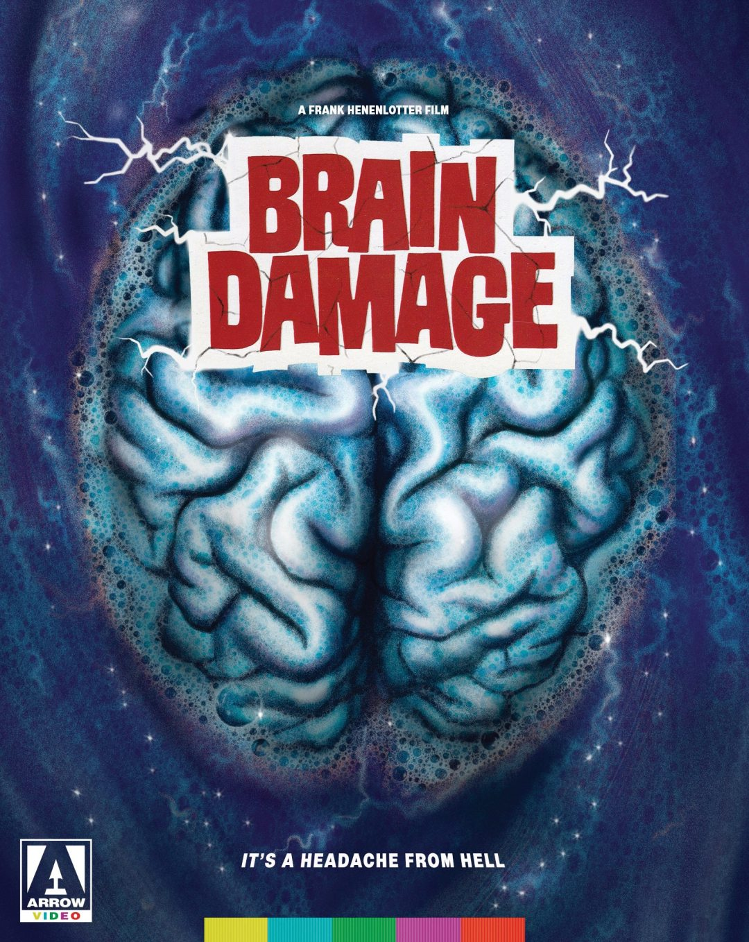 Brain Damage – Blu-ray/DVD Release on May 9th, 2017