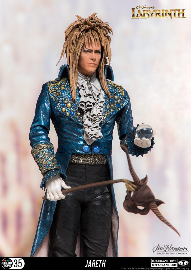 McFarlane is Bringing Us 'Labyrinth' and 'The Dark Crystal Toys!'