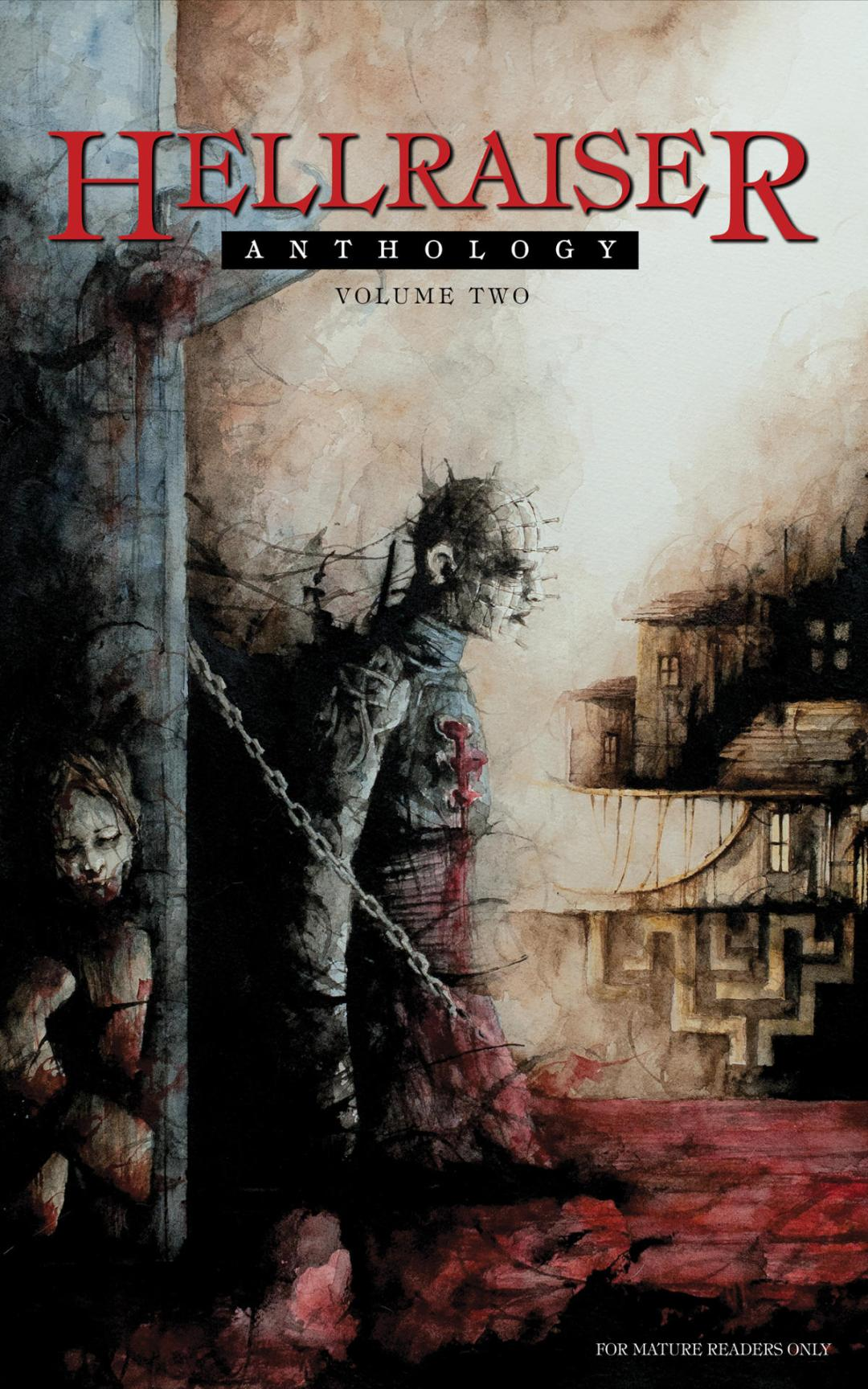 Clive Barker's Seraphim Comics To Show Us 'Hellraiser: Anthology Volume Two' In September!