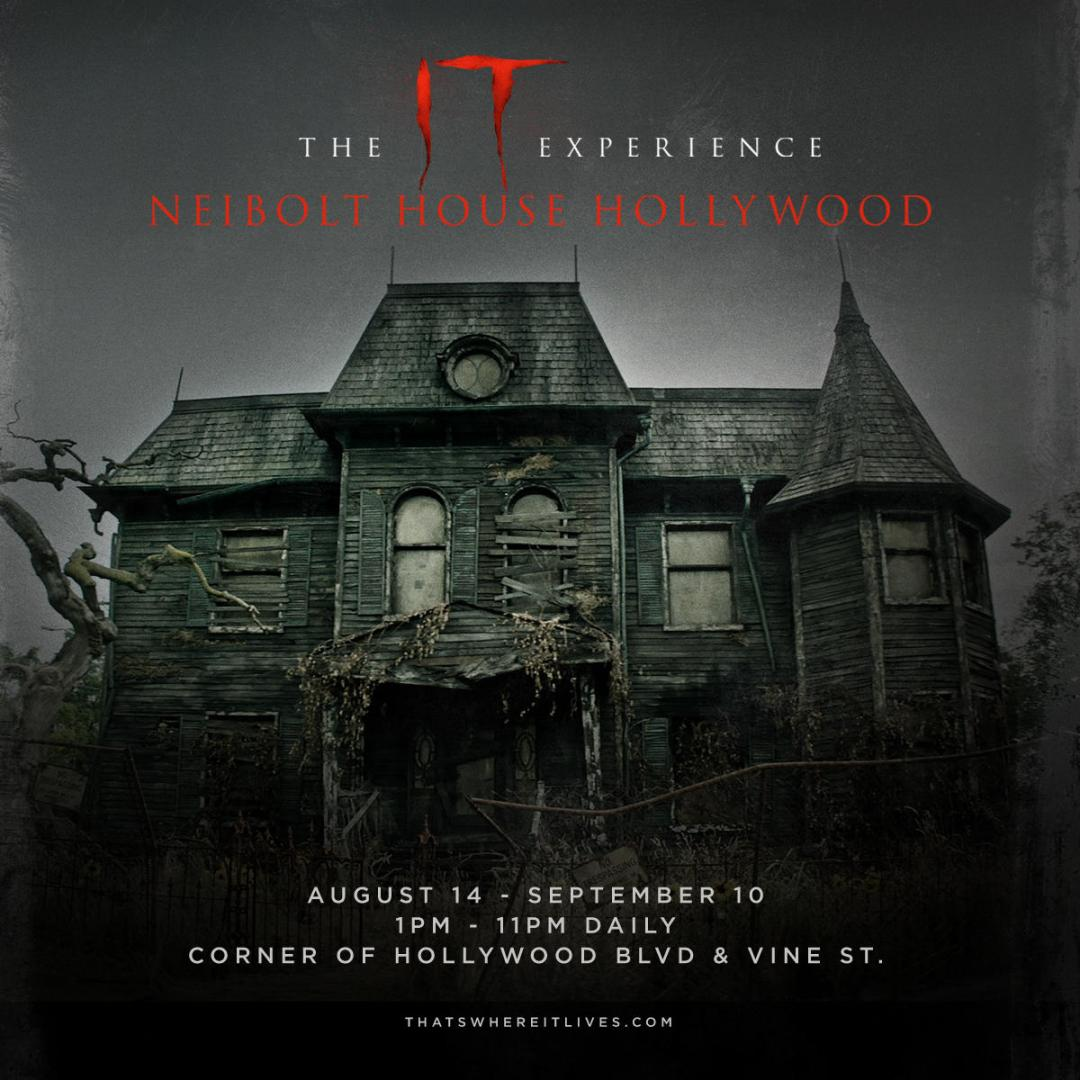 This August Through September Check Out The 'IT' Experience In LA!