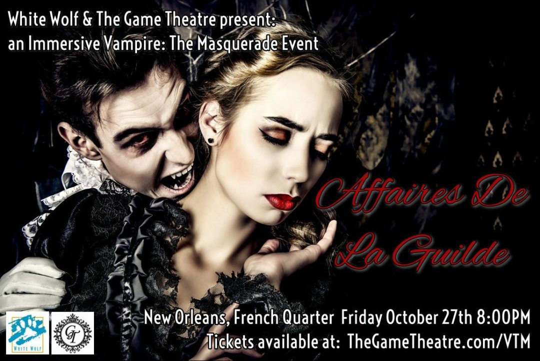 New Orleans is Getting a 'Vampire: The Masquerade' LARP
