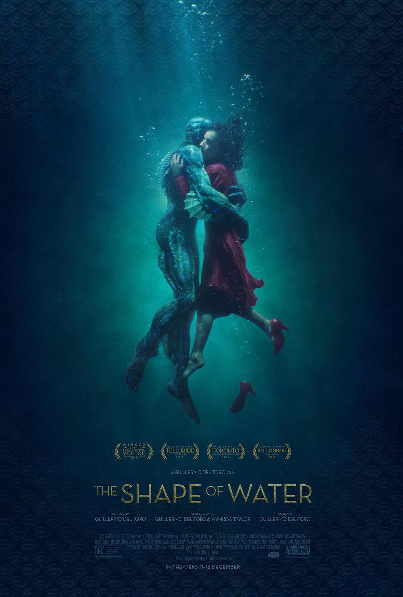 Love is in the Water in the Latest Poster for 'The Shape of Water'