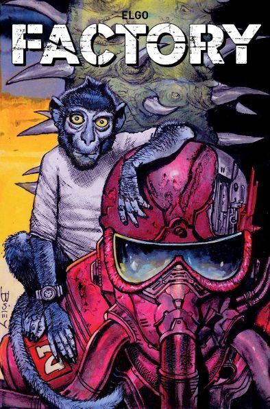 Titan Comics' 'Factory' Available Now!
