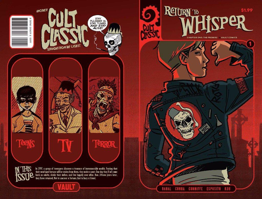 Vault Comics Announces Title Change to 'Cult Classic Series!'