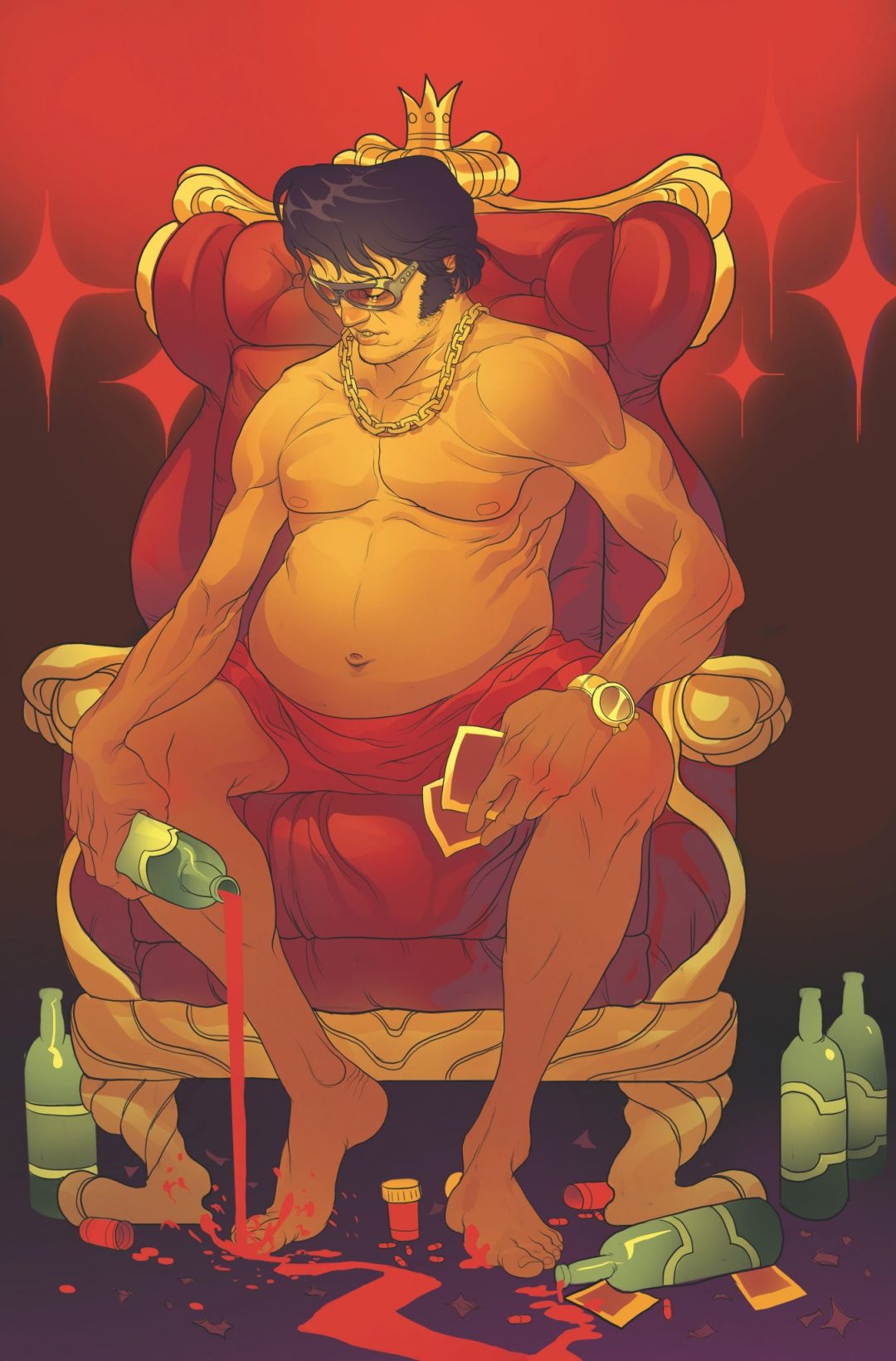 Elvis Returns in 'Bubba Ho-Tep and the Cosmic Blood-Suckers'