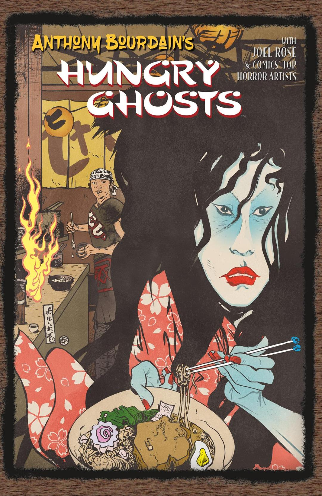 Dark Horse Serves 'Anthony Bourdain's Hungry Ghosts' for Fans to Consume in September 2018