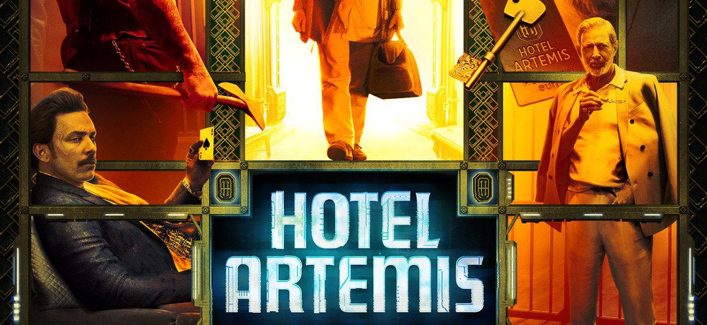 New Red Band Trailer and Clip Show Tense Times at the 'Hotel Artemis'