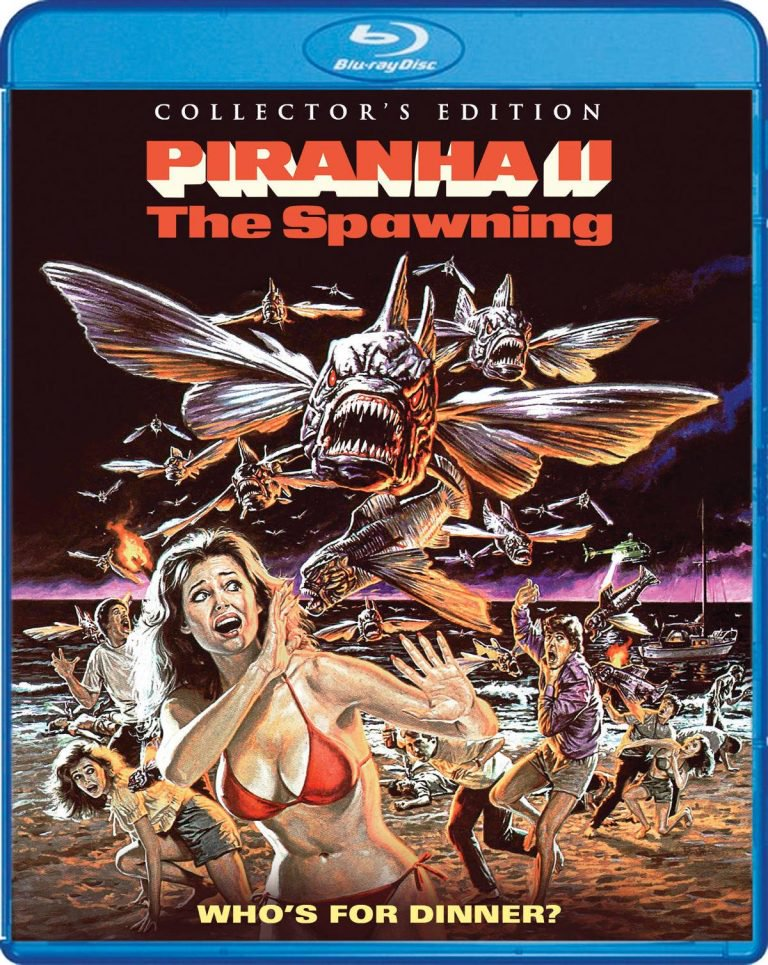 Full Release Details for Scream Factory's 'Piranha II: The Spawning' Collector's Edition Blu-ray