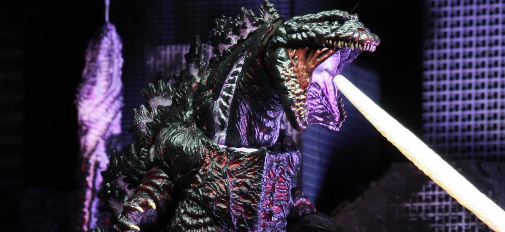 Photos of NECA's SHIN GODZILLA Figure Showcase the King of the Monsters' Atomic Blast