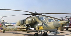 """تحطم حوامة """"صياد الليل"""" روسية في حمص ومصرع طياريها"""