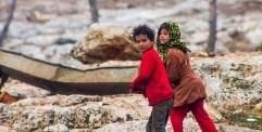 أطفال المخيمات – ريف حلب الغربي – عدسة مجد مكسور