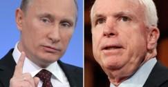 السيناتور جون ماكين يعتبر بوتين أخطر من داعش
