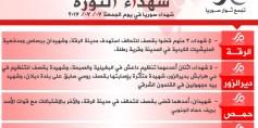 شهداء الثورة: الجمعة 07-07-2017