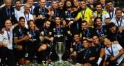 ريال مدريد زعيماً لأوروبا بنيله لقب السوبر على حساب مانشستر